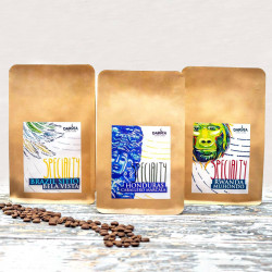 """""""Trzy wymiary smaku"""" Specialty 3x250g- zestaw kaw ziarnistych Darvea"""