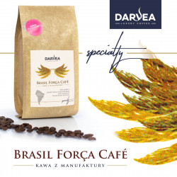 Darvea kawa ziarnista specialty Brasil Força Café - mikrolot