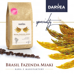 Darvea kawa ziarnista specialty Brasil Fazenda Miaki