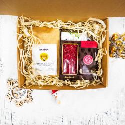 Zestaw prezentowy duży-500g kawa+2x100g herbata+czekolada