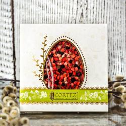 Czekolada CIEMNA z wiśniami i pistacjami 85g - Cortez