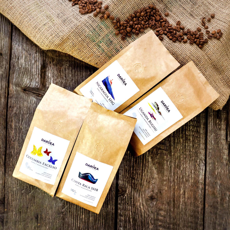 Kawy ziarniste 100% arabica