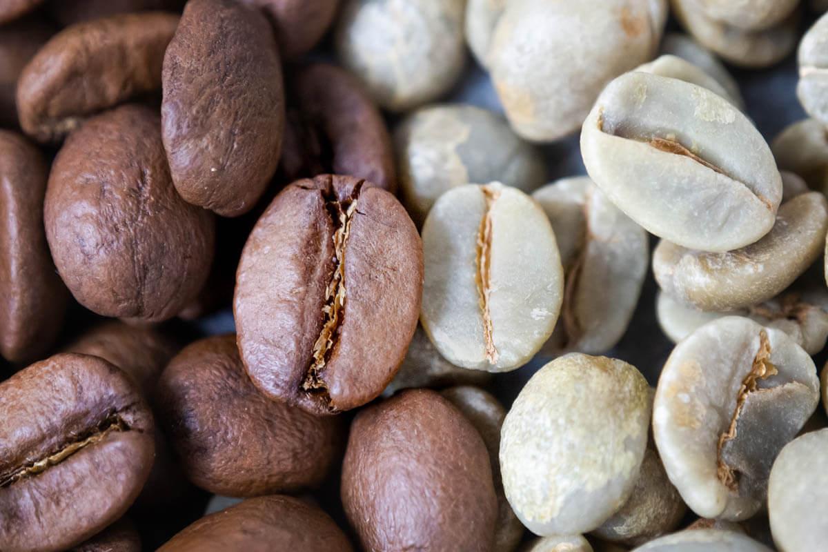 Ziarna kawy Brasil Santos