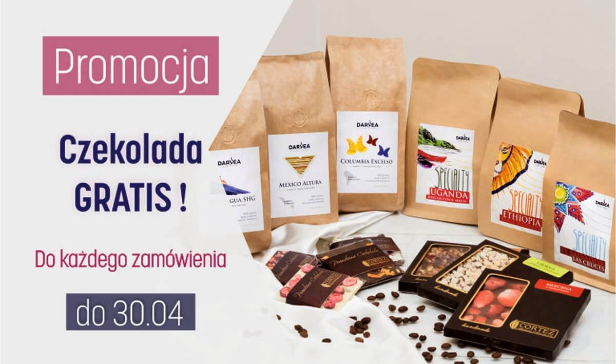 Slider promocja - czekolady gratis do każdego zamówienia