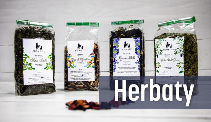 Herbaty naturalne NOMADS